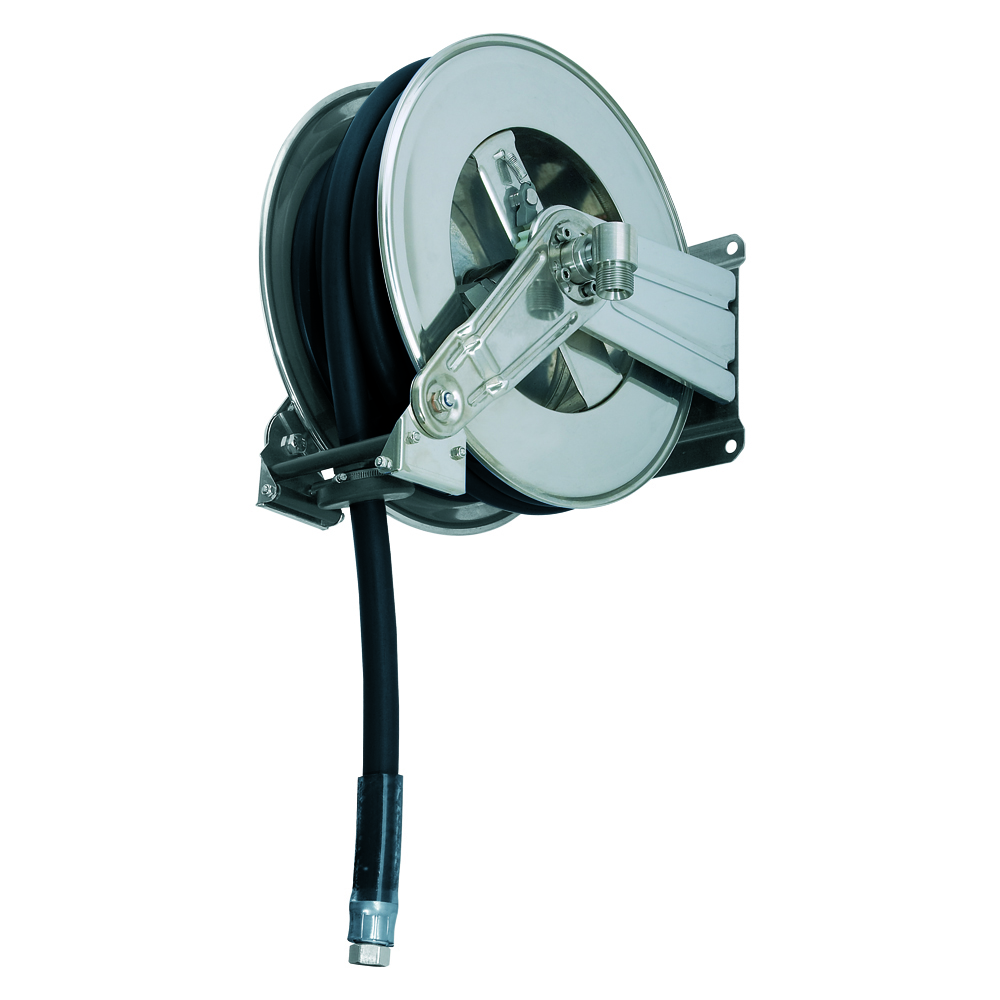AV1200 GZ - Hose reels for Gasoline - Gas - Aviation Fuel - Explosive Fluids