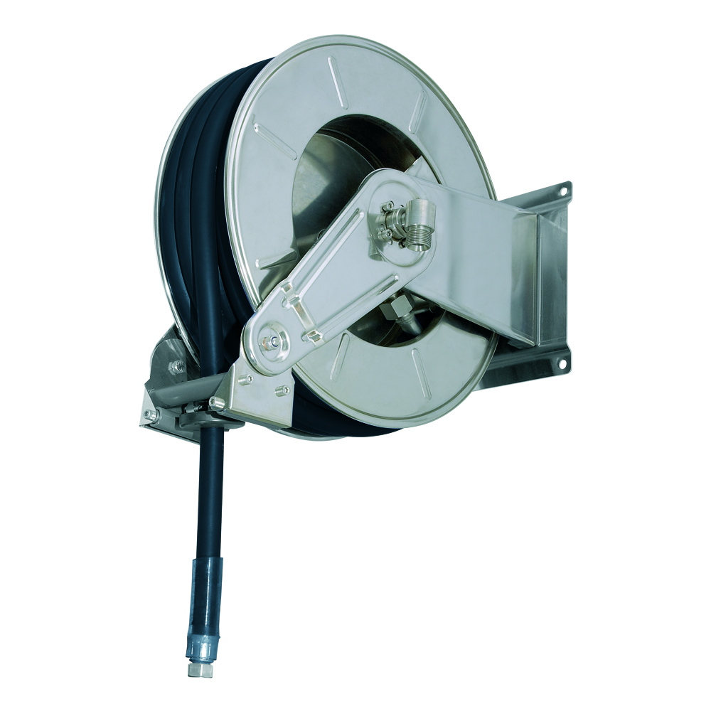 AV3501 GZ - Hose reels for Gasoline - Gas - Aviation Fuel - Explosive Fluids