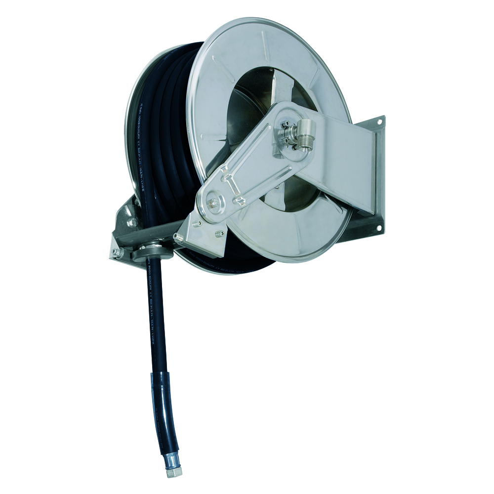 AV3502 GZ - Hose reels for Gasoline - Gas - Aviation Fuel - Explosive Fluids
