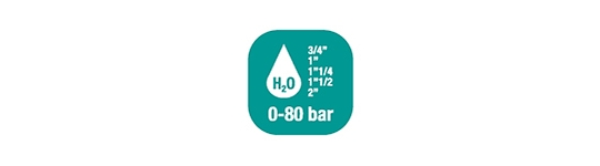 Hose reels for Water - High Flow 0-100 BAR/ 0-1450 PSI