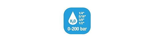 Hose reels Water Standard Pressure 0-200 Bar/0-2900 PSI