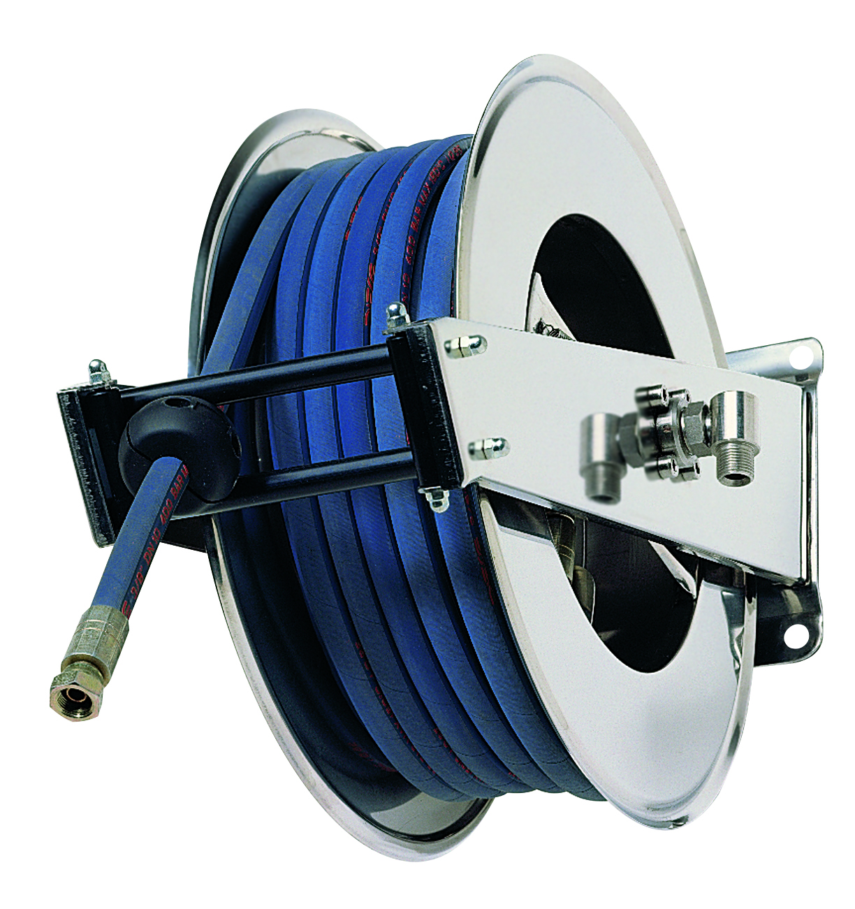 AV2000 400 - Hose reels for Water -  High Pressure up to 400 BAR/5800 PSI