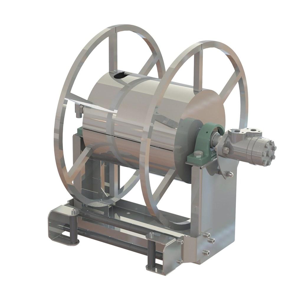 AV8501 - Hydraulic Motor Driven hose reels